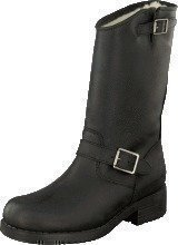 Johnny Bulls Mid Boot Warm lining Black/Silver