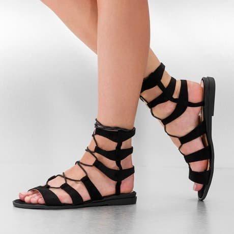 Jumex Sandaalit Musta