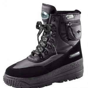 Kangaroos Snow Boot Musta