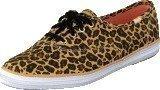 Keds Champion Leopard Twill Tan