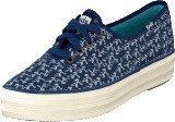 Keds Triple Botanical Navy