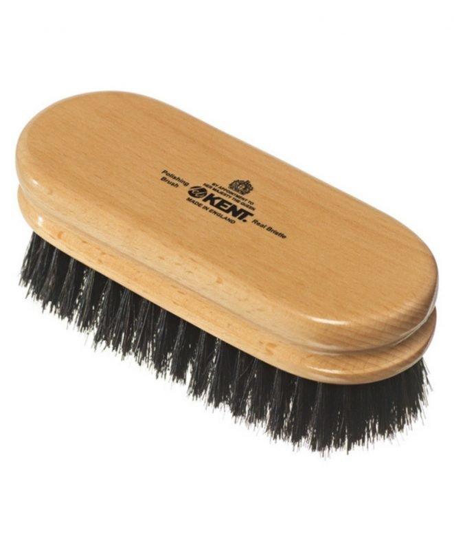 Kent Brushes Black Bristle Shoe Brush