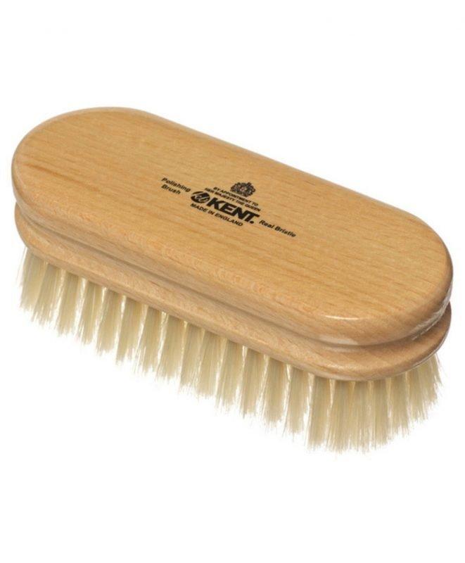 Kent Brushes White Bristle Shoe Brush