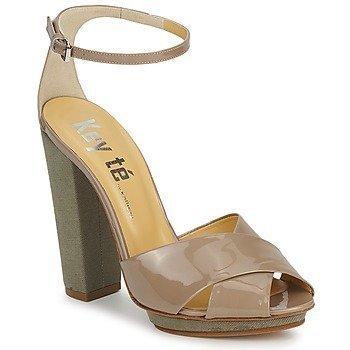 Keyté KRISTAL-26722-TAUPE-FLY-3 sandaalit