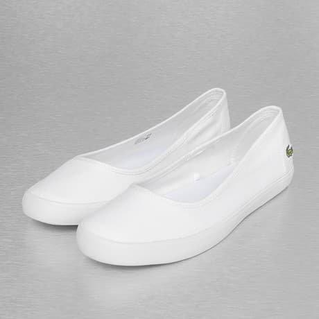 Lacoste Ballerinat Valkoinen
