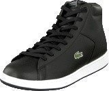 Lacoste Carnaby Evo Mid Crt Blk/Gry Lth