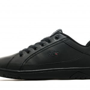 Lacoste Deviation Leather Musta