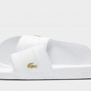 Lacoste Frasier Deluxe Slides Valkoinen