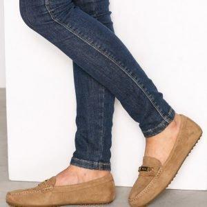 Lauren Ralph Lauren Berdine Flats Loaferit Ruskea