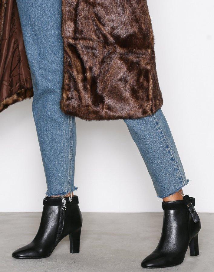Lauren Ralph Lauren Brin Boots Saapikkaat Musta