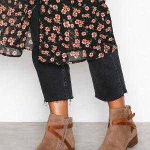 Lauren Ralph Lauren Mehira Boots Bootsit Ruskea