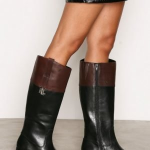 Lauren Ralph Lauren Merrie Boots Saappaat Musta