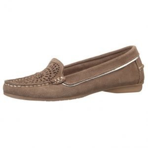Liva Loop Loaferit Harmaanruskea