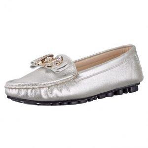 Loaferit Hopeanvärinen