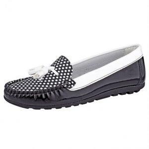 Loaferit Musta / Valkoinen