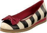 Lola Ramona 412801-2 Cecilia White/Black Stripes