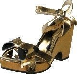 Lola Ramona Betty Gold Mirror/black