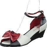 Lola Ramona Lennie Black/white/red