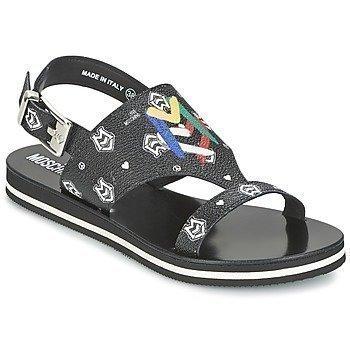 Love Moschino I LOVE MONOGRAM sandaalit