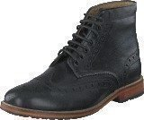 Lyle Scott Brogue Boot Leather 572 True Black