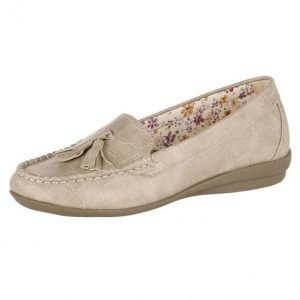 Mae & Mathilda Loaferit Beige
