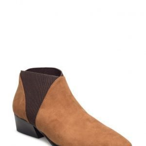 Mango Elastic Panels Ankle Boot