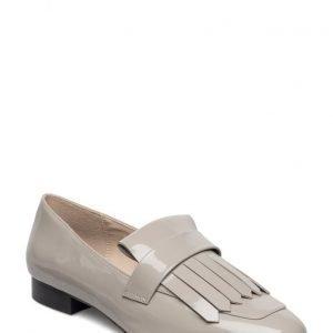 Mango Fringe Patent Loafers