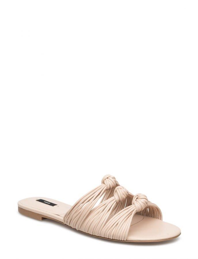 Mango Knots Flat Sandals
