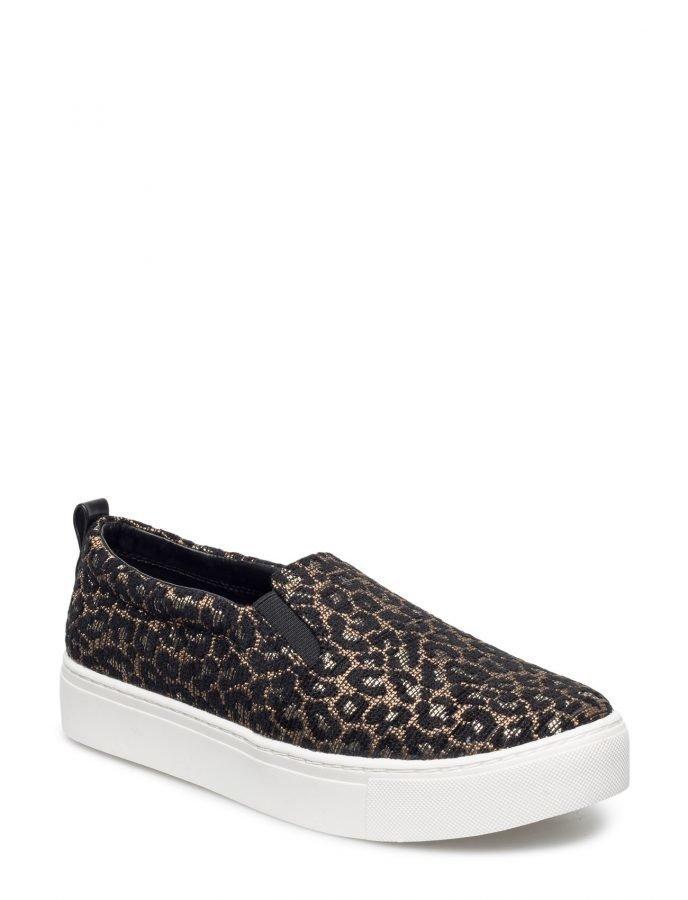 Mango Leopard Print Sneakers