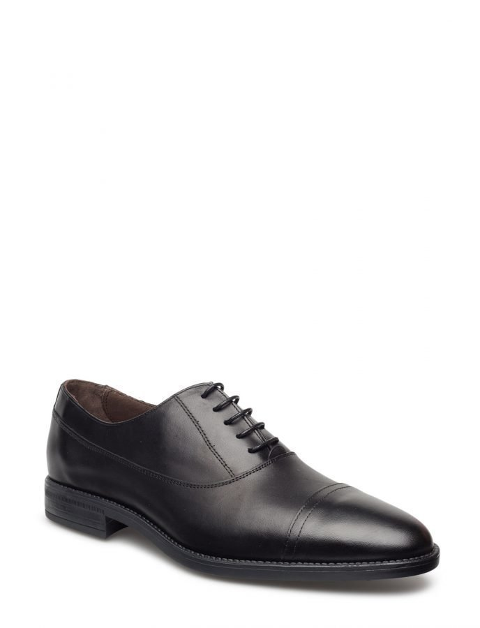 Mango Man Leather Oxford Shoes