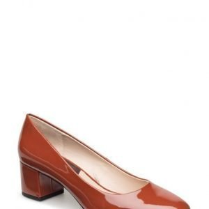 Mango Patent Leather Heel Shoes