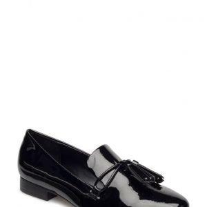 Mango Tassel Patent Loafers