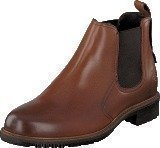 Marc O Polo Flat Heel Chelsea 720 Cognac