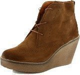 Marc O Polo Short Boot Brown Suede