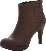 Mentor Interlaced Ankle Boot D. Brown