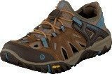 Merrell All Out Blaze Sieve Brown Sugar/Blue