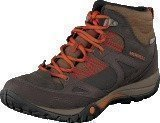 Merrell Azura Lapis Mid Wtpf Chocolate Brown