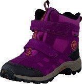 Merrell Moab Polar Mid Strap Wtpf Kids Purple Potion