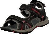 Merrell Panther Sandal Black/Red