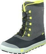 Merrell Snow Bank Waterproof Kids Grey/Lime