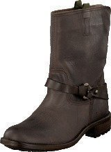 Mexx Denise 2 Cow Lthr Boots Charcoal