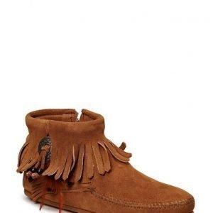 Minnetonka Concho Side Zip Boot