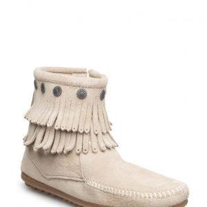 Minnetonka D Fringe Side Zip Boot