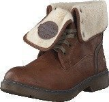 Mustang 1235602 Women's Warmlined Boot Chestnut