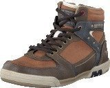 Mustang 4064503 Men's High Top Sneaker Hazel