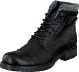 Mustang 4865605 Men's Lace Ancle Boot Black