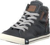 Mustang 5024602 Jr High Top Sneaker Graphite
