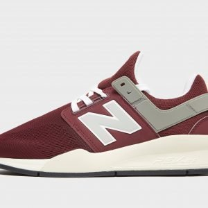 New Balance 247 Burgundy / White