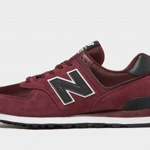 New Balance 574 Burgundy / Black