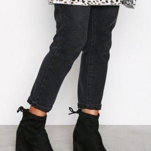 New Look Ava Sdt Heel Sock Boot Bootsit Black